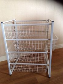 Wire drawer unit - new from IKEA