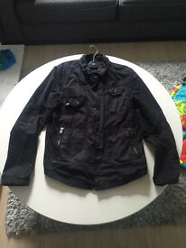 River Island Black Short Jacket - Medium