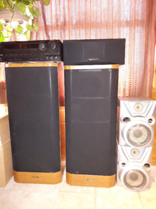 Kenwood Stereo with speakers
