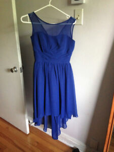 Mediterranean Blue Dress - Size 4