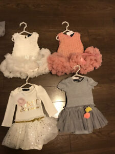 4- Olivia Rose Collection Dresses 6-12 months
