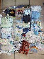 Lot vêtements Préma à 3 mois + 80 mcx