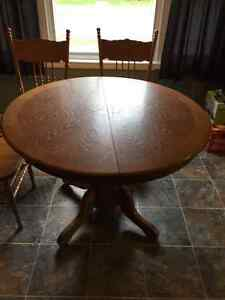 Table, chairs and cabinet Windsor Region Ontario image 7