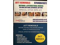 MAN AND VAN NATIONAL AND INTERNATIONAL MOVERS WE Move ANYTHING,ANYWHERE,ANYTIME SPECIAL OFFER