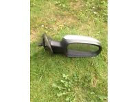 Corsa c 2005 electric drivers side mirrer in star silver z157 vgc 07594145438