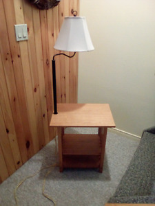Small Table  and Lamp