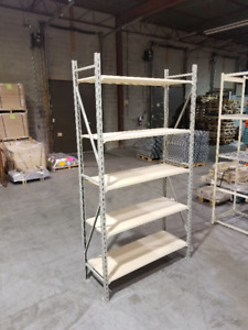 We Sell Industrial Shelving - 1000's of Shelving Units in Stock!