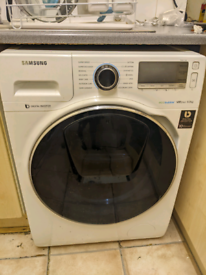 Samsung AddWash Washing Machine WW90K7615OW