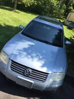 2002 VW PASSAT GLX 4 Motion Wagon For sale