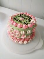 Irresistible cakes and Cupcakes for birthdays and all occasions.