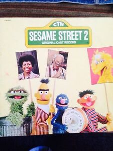 Sesame Street LP original cast 2