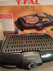 T-Fal Slimline - All Seasons BBQ - Electric grill - Grillade West Island Greater Montréal image 1