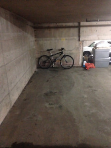 South End downtown underground parking space with clicker
