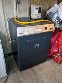 Miele gas heating commercial dryer