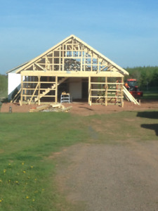 Spring is in the Air! Need a new Barn? We can build it..