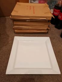 Large square platters