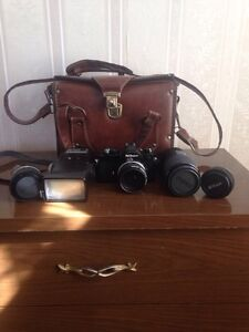 Nokia camera with accessories