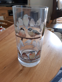 Laura Ashley bird vase