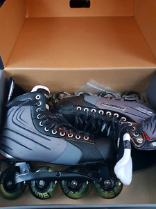Selling brand new pair of Bauer XR Glide rollerblades