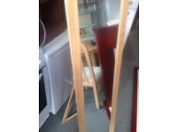 Tall standing mirror