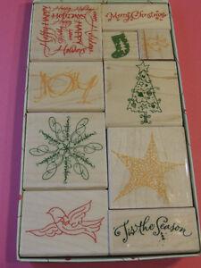 Holiday Rubber Stamp set Kitchener / Waterloo Kitchener Area image 1