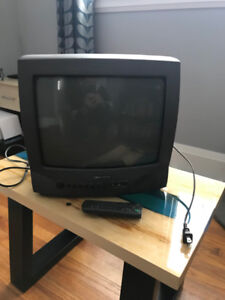"FREE 13"" Tube TV /w Remote (Works)"