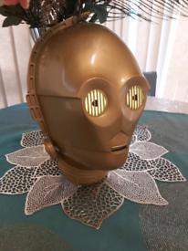 C3PO Head Wall Light