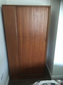 Medium brown wardrobe
