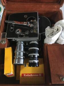 Bolex De Luxe H-16mm Reflex Camera