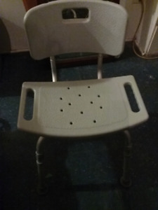 BATH & SHOWER CHAIR WITH BACK
