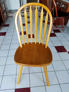 Solid Wood Dining Chairs Set of 4
