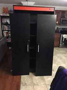 Black and Decker tool storage cabinet