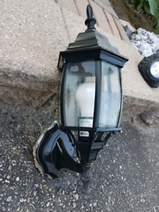 Black Exterior Light Fixture