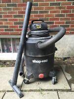 Shop Vac Wet Dry 6.5hp 24 gallon QSP contractor