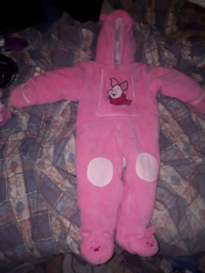 Piglet Snowsuit for 1 to 2 year old.