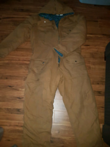 XL insulated coveralls