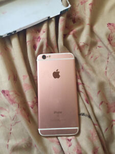 selling iphone 6s rose gold locked with virgin mobile $270