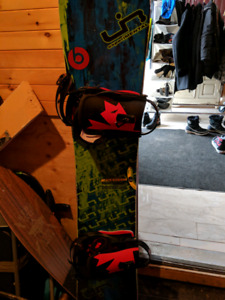 Libtech Skate Banana W/Bindings+Boots+Bag