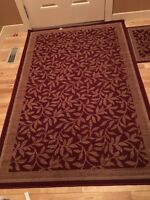 Beautiful barely used door carpets for sale!!