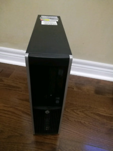 Hp elite 8200 sff pc, intel i5, 8GB, 1TB, with dell P2312 lcd