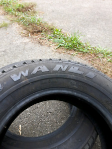 2 winter tires 155 80 13 like new