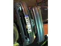Renault Clio mk2 front & rear bumper 2001-2006