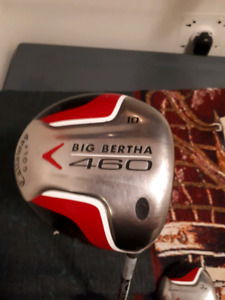 MRH CALLAWAY BIG BERTHA 460 DRIVER & MATCHING BIG BERTHA 3 WOOD