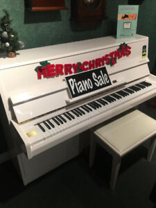 Christmas Sale  on all Pianos New & Used
