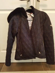 Spyder Winter Jacket with Fur on Hood