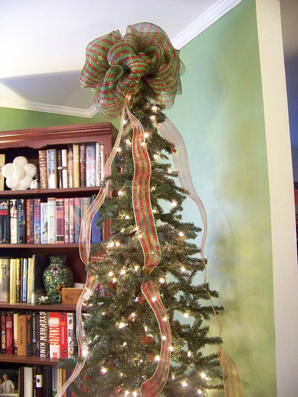 How to Decorate a Christmas Tree with Mesh Ribbon | eBay