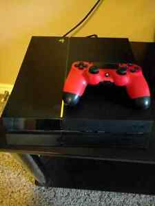 Sony PS4 Console + Like new controller $275 OBO (+ Games)
