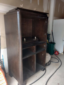 Dresser/Armoire for sale. Perfect condition, WILL take any offer