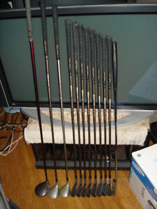 Set of excellent Daiwa r/h clubs with Callaway driver