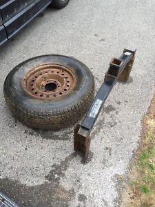 4runner hitch and spare